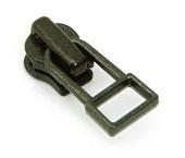 Cursor para zíper de metal 03 fino YKK ref. 03 M DADHR5 V7 oxidado preto c/ 1 un