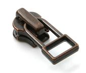Cursor para zíper de metal 04.5 médio YKK ref. 45 Y DADHR5 X cobre velho c/ 1 un