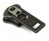 Cursor para zíper de metal 05 grosso YKK ref. 05 Y GSN6 H6 prata velha c/ 1 un