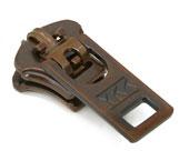 Cursor para zíper de metal 05 grosso YKK ref. 05 Y GSN6  X cobre velho c/ 1 un