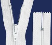 Zíper de poliéster 03 fino fixo Coats ref. 2130 227 (CL-1) c/ 1 un