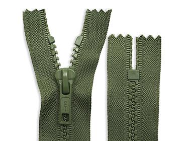 Zíper de plástico 05 grosso fixo Coats ref. 610I 227 (P60-1) c/ 1 un