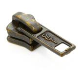 Cursor para zíper de vislon 05 grosso  Coats ref. D-P60 223 OV c/ 1 un
