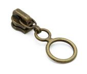 Cursor para zíper de metal 03 fino Coats ref. D-GACH 03 2K3A OV c/ 1 un