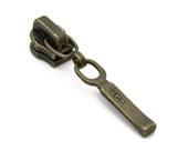 Cursor para zíper de metal 03 fino Coats ref. D-GACH 03 2K3E OV c/ 1 un