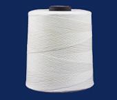 Linha de algodão para costura Coats ref. Brava 16 crua c/ 4000 j