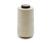 Linha de algodão para costura Coats ref. Brava 50 crua c/ 4000 j