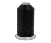 Linha de poliéster para costura Coats ref. Polybond 60 preta c/ 200 g
