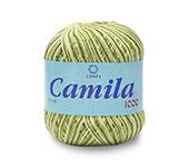 Linha para crochê e tricô mesclada Coats ref. Camila 1000