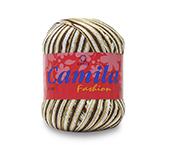 Linha para crochê e tricô mesclada Coats ref. Camila Fashion c/ 500 m