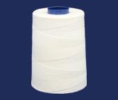 Linha de algodão para costura Setta ref. Xik 16 branca c/ 4000 j