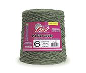 Barbante colorido Fial + Barato nº 6 ref. verde oliva c/ 512 m