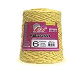 Barbante colorido Fial + Barato nº 6 ref. amarelo ouro c/ 512 m