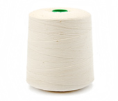 Linha de algodão para costura Bonfio ref. 16 crua c/ 5000 m