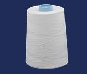 Linha de algodão para costura Bonfio ref. 50 branca c/ 5000 m