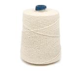 Barbante de algodão cru Bandeirantes ref. 4/10 c/ 700 g