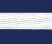 Elástico de embutir Tekla ref. Caledônia natural c/ 25 m