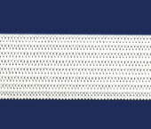 Elástico de embutir Tekla ref. Calcutá Light branco c/ 25 m