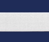 Elástico de embutir Zanotti ref. Gênova branco c/ 25 m