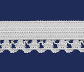 Elástico decorado 12,5 mm Zanotti ref. Birmânia c/ 100 m
