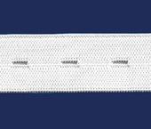 Elástico para casear de embutir 21 mm Estrela ref. Lisboa c/ 25 m