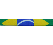 Elástico decorado 10 mm Estrela ref. Brasil c/ 25 m