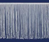 Franja de viscose 300 mm branca São José ref. 8450/BC c/ 10 m