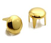 Enfeite de latão dourado Eberle ref. GR.050.045.L (EN 0540 L) c/ 1000 un