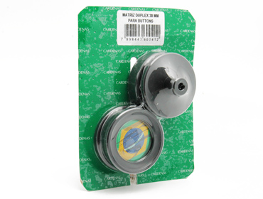Matriz duplex para Button Cardenas 38 mm