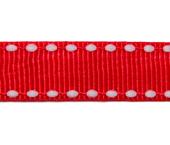 Fita de gorgurão 10 mm decorada Najar ref. 406 c/ 10 m