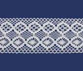 Renda de algodão 80 mm Paraíba ref. 1013 c/ 20 m