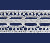 Renda de algodão 035 mm Paraíba ref. 1042 c/ 20 m