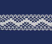 Renda de algodão 035 mm Paraíba ref. 123730 c/ 20 m