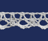 Renda de algodão 015 mm Paraíba ref. 130014 c/ 20 m