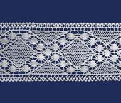 Renda de algodão 115 mm Paraíba ref. 140188 c/ 20 m