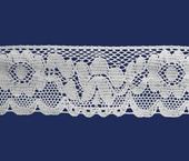 Renda de algodão 074 mm Paraíba ref. 143464 c/ 20 m.