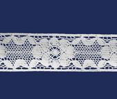 Renda de algodão 057 mm Paraíba ref. 144152 c/ 20 m