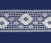 Renda de algodão 032 mm Paraíba ref. 430552 c/ 20 m
