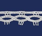 Renda de algodão 007 mm Paraíba ref. 500814 c/ 20 m