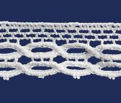 Renda de algodão 012 mm Paraíba ref. 501024 c/20 m