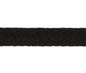 Cadarço de algodão Haco ref. 40 preto c/ 50 m