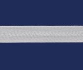 Cadarço de algodão São José branco ref. 3125 c/ 25 m