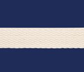Cadarço de algodão cordex ref. AAL cru c/ 25 m