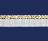 Vivo lurex dourado 10 mm Cordex VT 10 LD DOU c/ 50 m