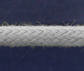 Cordão de algodão 5 mm branco Cordex ref. GM c/ 25 m