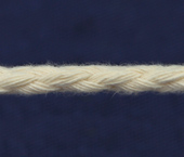 Cordão de algodão 5 mm cru Cordex ref. A22n c/ 50 m