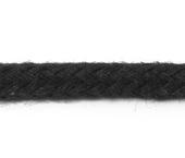 Cordão de algodão 4 mm preto Cordex ref. A1esp c/ 50 m