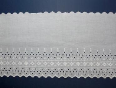 Tira bordada 282 mm Hoepcke ref. 006143 c/ 7,2 m