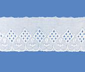 Tira bordada 050 mm branca Aquarela ref. BDPE5048 c/ 13,70 m