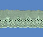 Tira bordada 050 mm verde claro Aquarela ref. BDPE5048 c/ 13,70 m